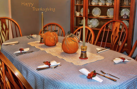 Happy Thanksgiving by Joan Bertucci