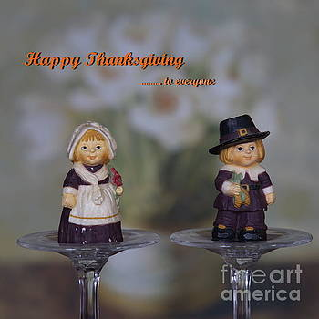 Happy Thanksgiving to Everyone by Marcel  J Goetz  Sr