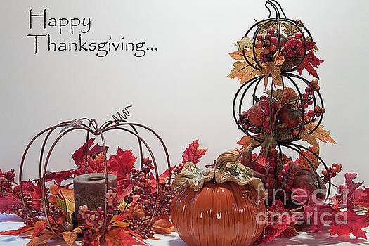Happy Thanksgiving to Friends and Family by Sherry Hallemeier
