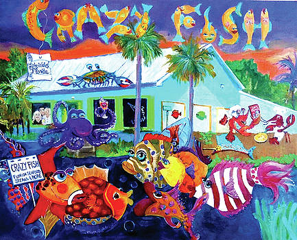 Happy Times at the Crazy Fish by Linda Kegley