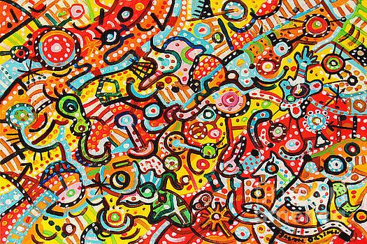 Happy Toys by Dariusz Orszulik
