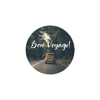 Happy Travels, Bon Voyage by Eleanore Ditchburn