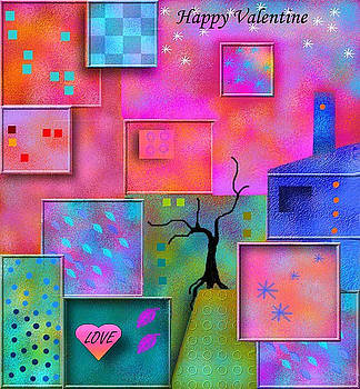 Happy Valentine by Carola Ann-Margret Forsberg