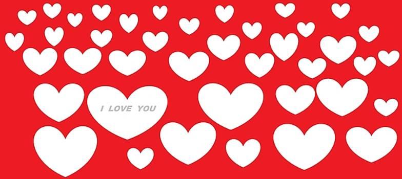 Happy Valentine's Day 30 by Linda Velasquez