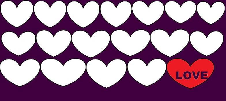 Happy Valentine's Day 444 by Linda Velasquez