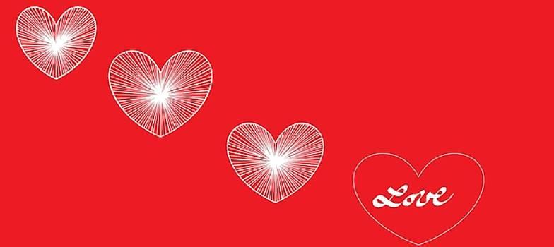 Happy Valentine's Day 555 by Linda Velasquez