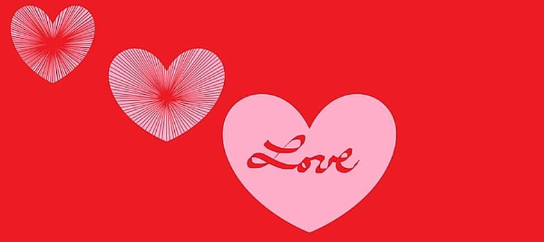 Happy Valentine's Day 777 by Linda Velasquez
