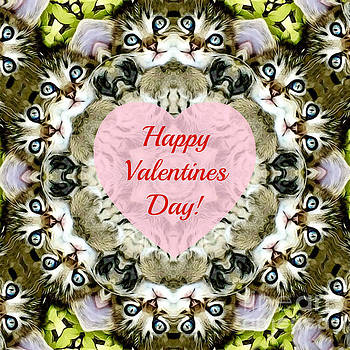 Happy Valentine's Day by Kathy M Krause