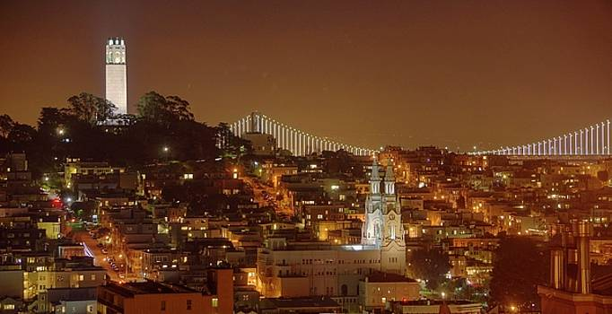 Happy Valentine's, San Francisco by Quality HDR Photography