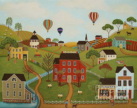 Happy Valley by Mary Charles
