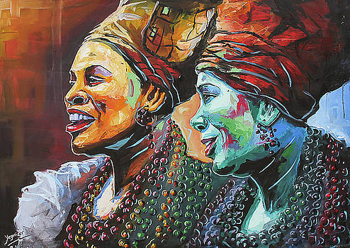 Happy Women by Evans Yegon