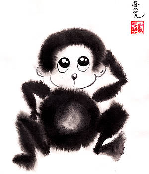 Happy Year Of The Monkey by Oiyee At Oystudio