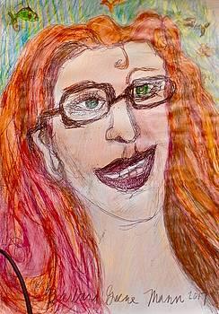 HappyDays Self Portrait by Barb Greene mann