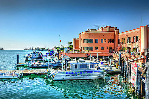 Fire Dept research Boats Pedro CA by David Zanzinger