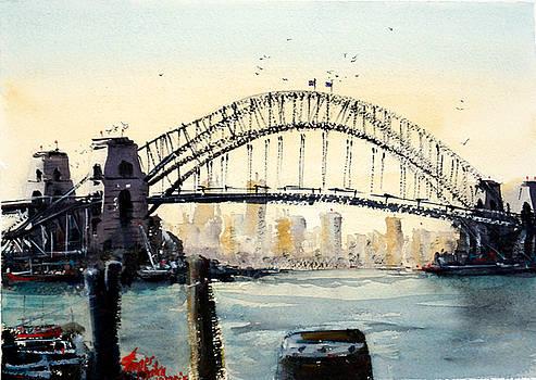 Harbor Bridge, Sydney by James Nyika
