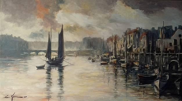 Harbor impression by Luke Karcz