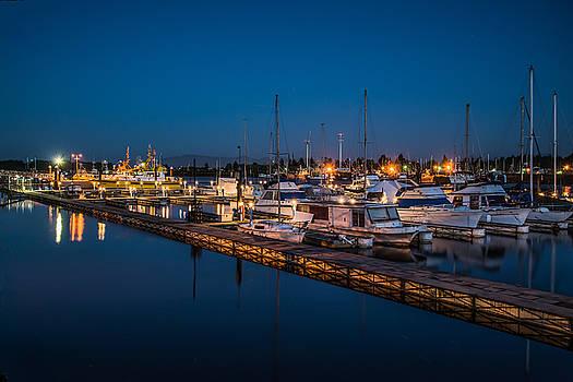 Harbor Lights by Joe Hudspeth
