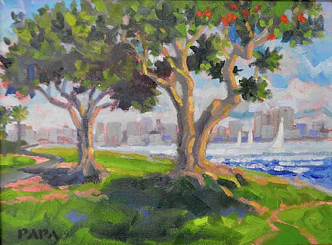 Harbor Park by Ralph Papa