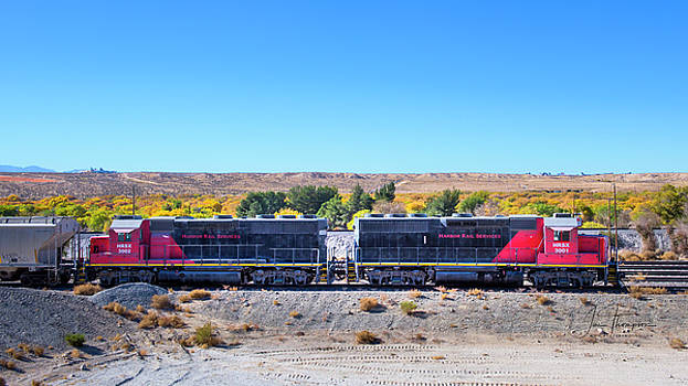 Harbor Rail Services by Jim Thompson