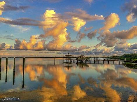 Harbor Reflections by Jacqueline Faust