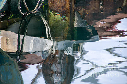 Harbor Reflections by Jay Ressler