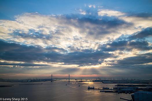 Leonard Sharp - Harbor sunrise