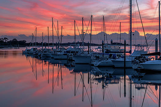 Harbor Sunset by Eric Albright