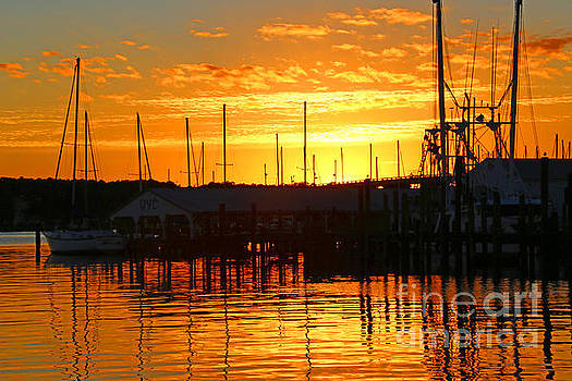 Harbor Sunset by Marty Fancy
