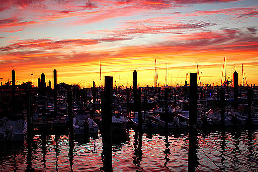 Harbor Sunset by Todd Dunham
