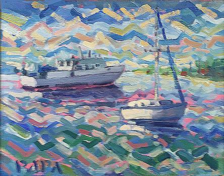 Harborside View by Ralph Papa