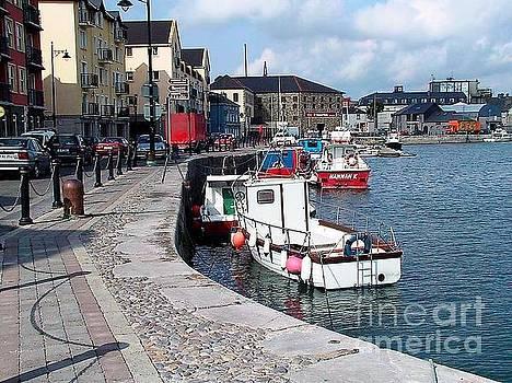Val Byrne - Harbour at Dungarvan