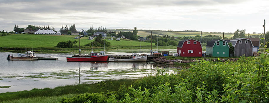 Harbour at French River by Rob Huntley