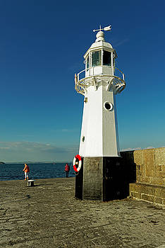 Harbour Lighthouse - Mevagissey by Rod Johnson