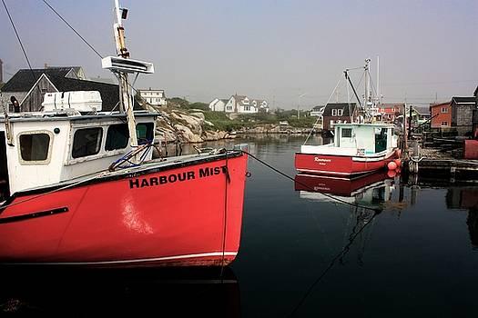 David Matthews - Harbour Mist boat