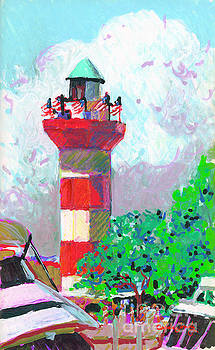 Harbour Town Light House by Candace Lovely