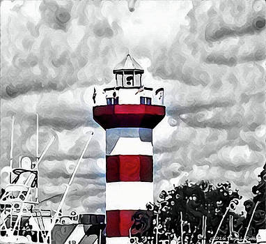 Harbour Town Lighthouse by Tara Potts