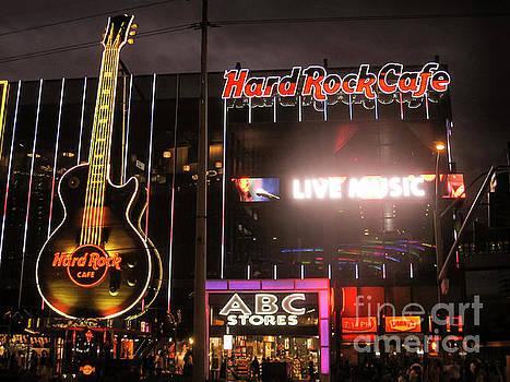 RicardMN Photography - Hard Rock Cafe Las Vegas Strip at night