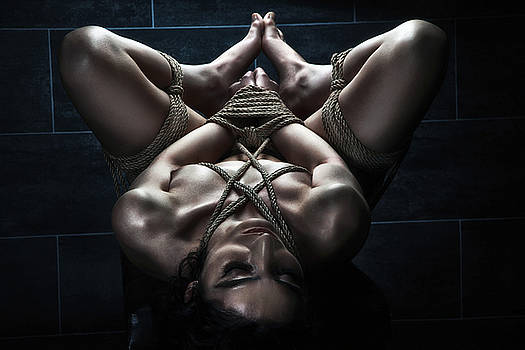 Rod Meier - Hard tied nude - Fine Art of Bondage