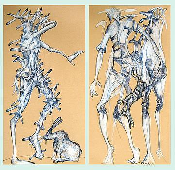 Hare-phantasies by Wolfgang - bookwood - Buchholz