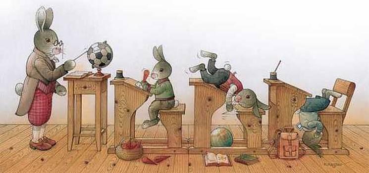 Kestutis Kasparavicius - Hare School 02
