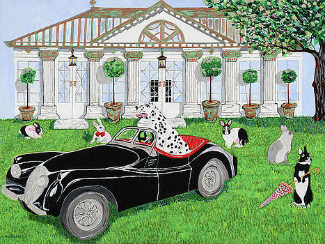 Hares and Hound by Pamela Trueblood