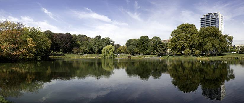 Harlem Meer Panorama by Joe Josephs
