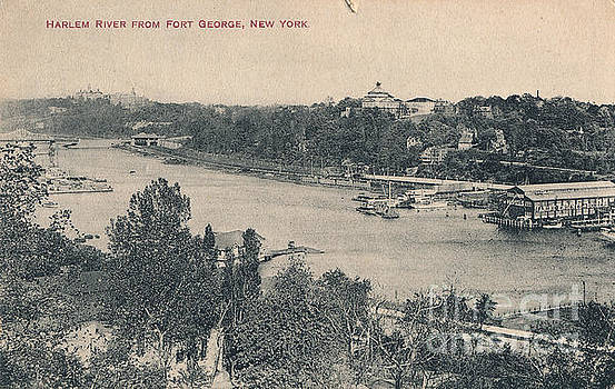 Harlem River from Fort George  by Cole Thompson