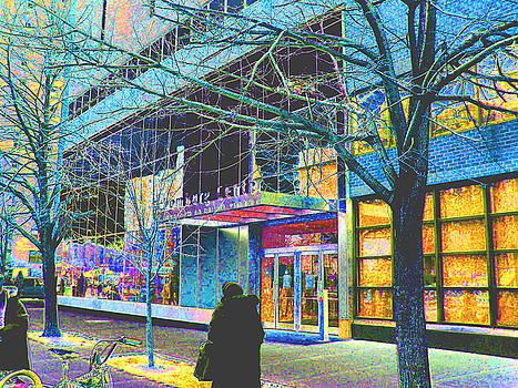 Harlem Street Scene  by Steven Huszar