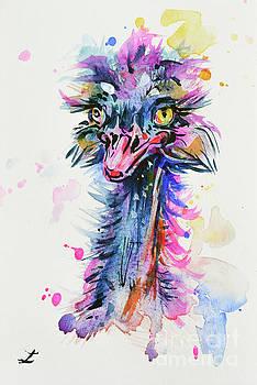 Zaira Dzhaubaeva - Harlequin Ostrich