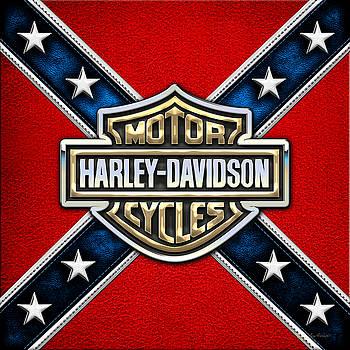 Serge Averbukh - Harley-Davidson - 3D Badge