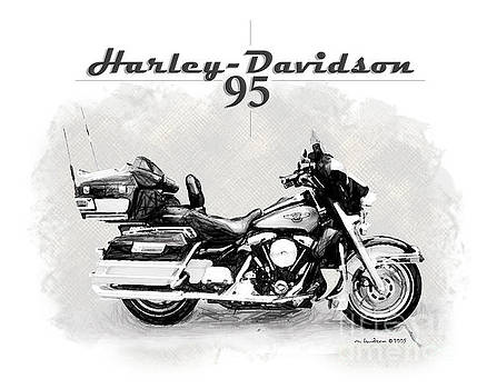 Harley Davidson '95 by Margie Middleton
