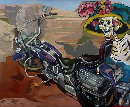 Harley Davidson Grand Canyon by Carmen Stanescu Kutzelnig