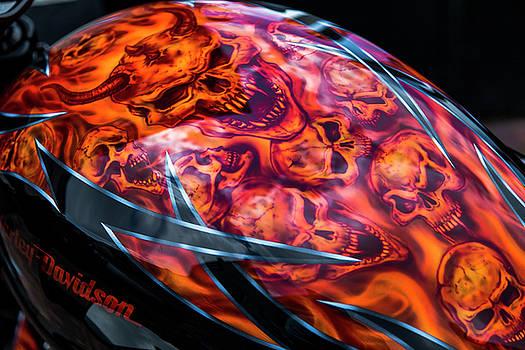 2bhappy4ever - Harley Davidson skulls
