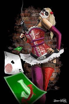 Harley Quinn by Brett Hardin